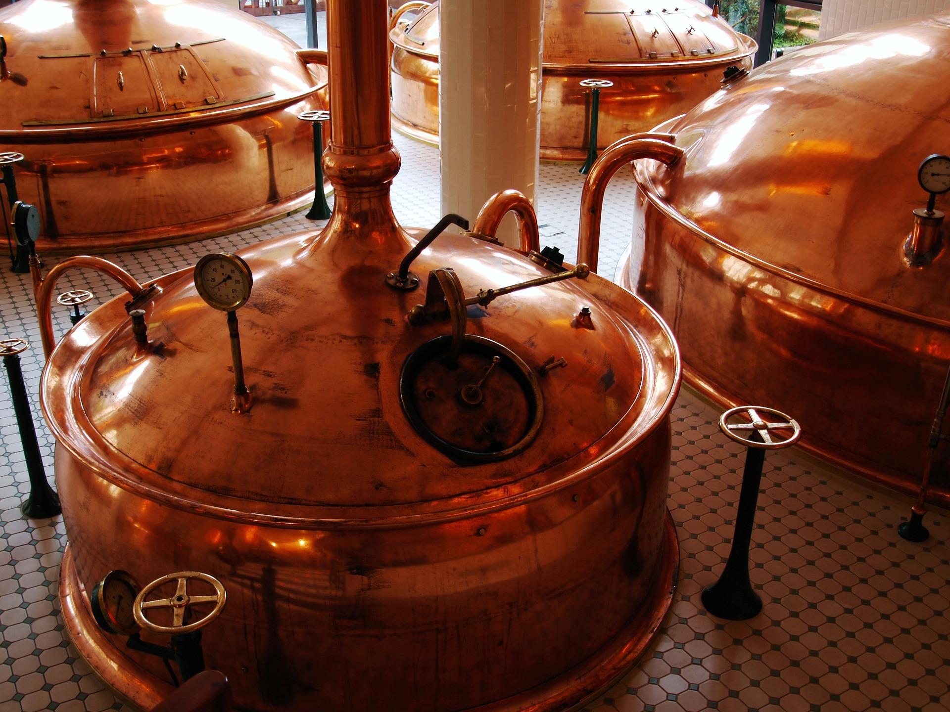 Bronze Brewing Vessels